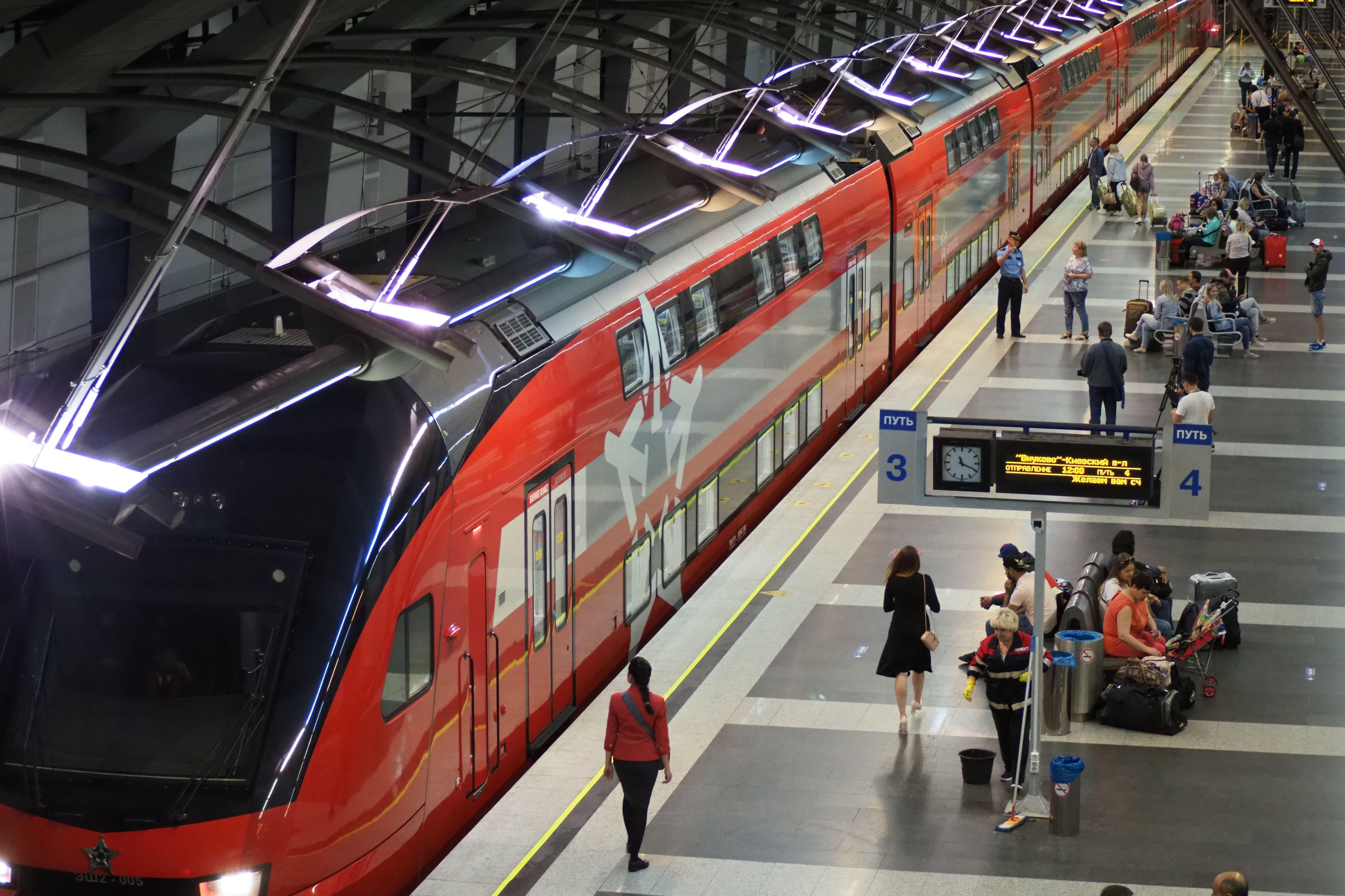Метро во Внукове: новая станция откроется в павильоне «Аэроэкспресса»