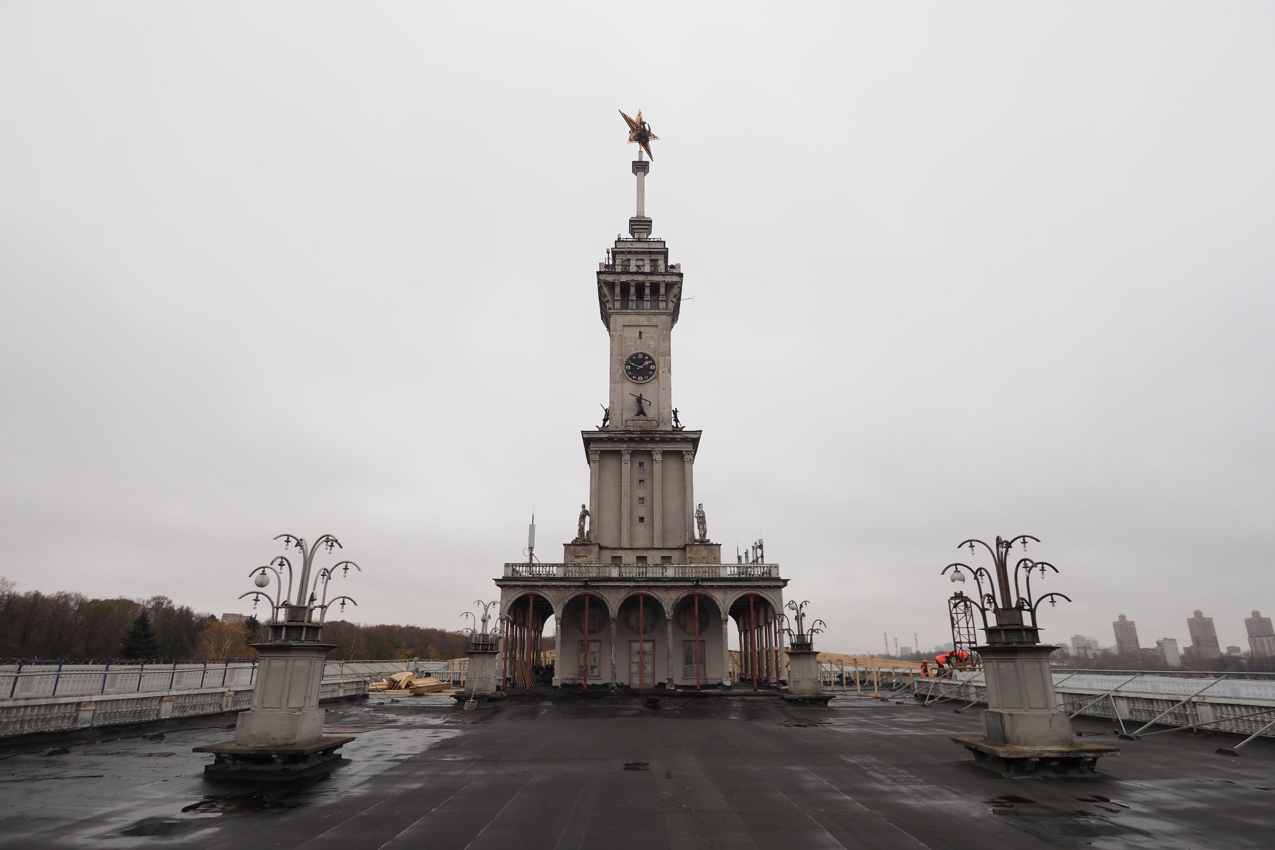 Северный речной вокзал откроют после реставрации