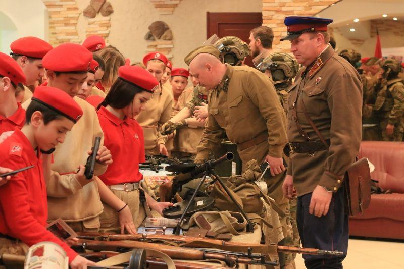 В Новой Москве прошел слёт Всероссийского детско-юношеского военно-патриотического движения «ЮНАРМИЯ»