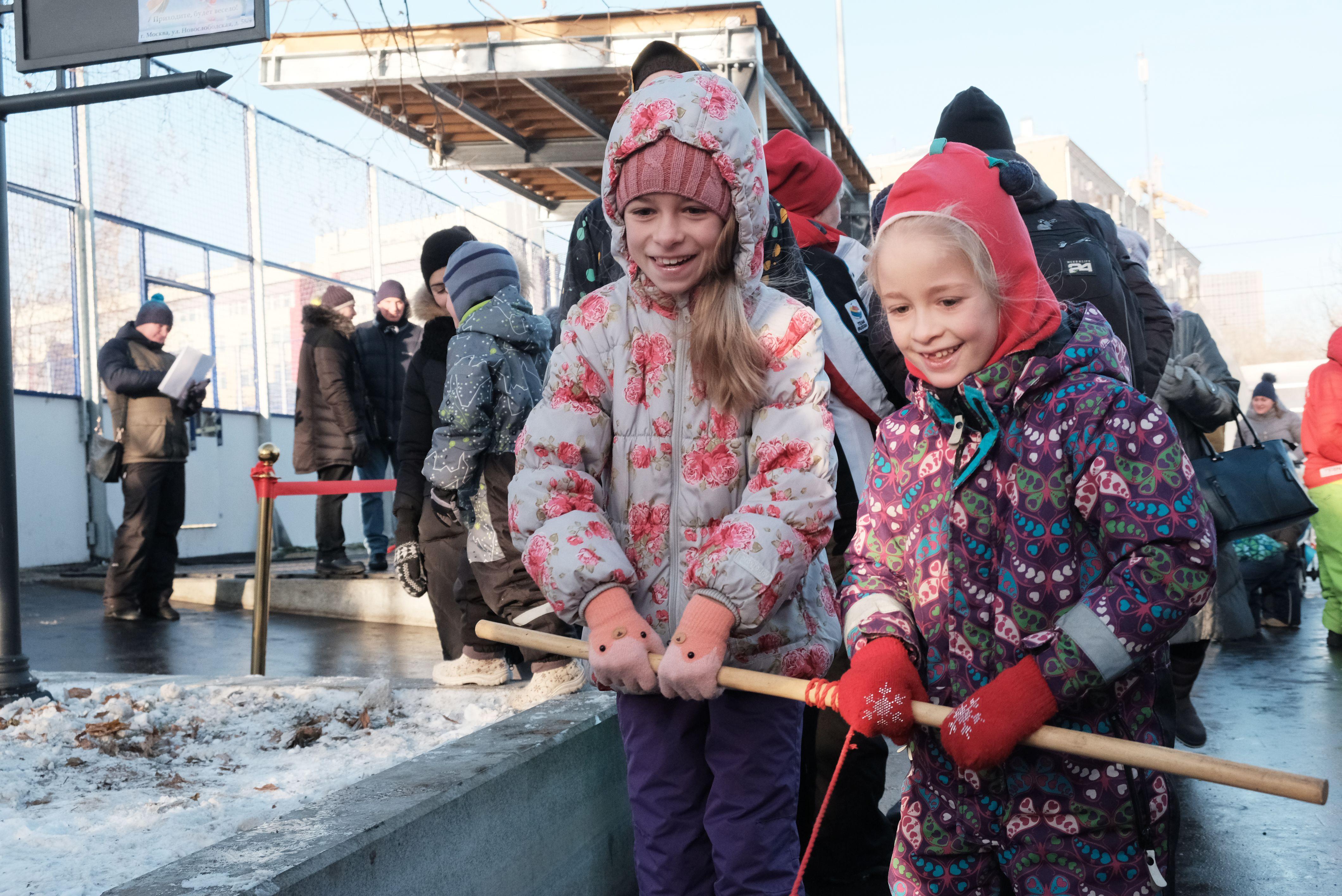 Соревнования «Весенние забавы» проведут в Сосенском