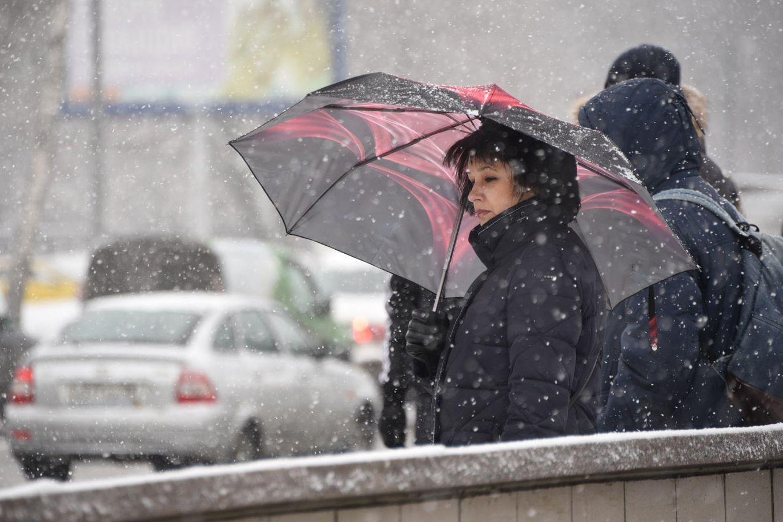Мокрый снег и дождь ожидает москвичей в праздник весны