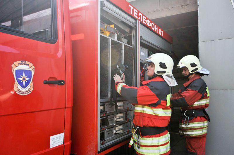 Пожарная часть со спасательным центром появится в Московском. Фото: Наталья Феоктистова, «Вечерняя Москва»