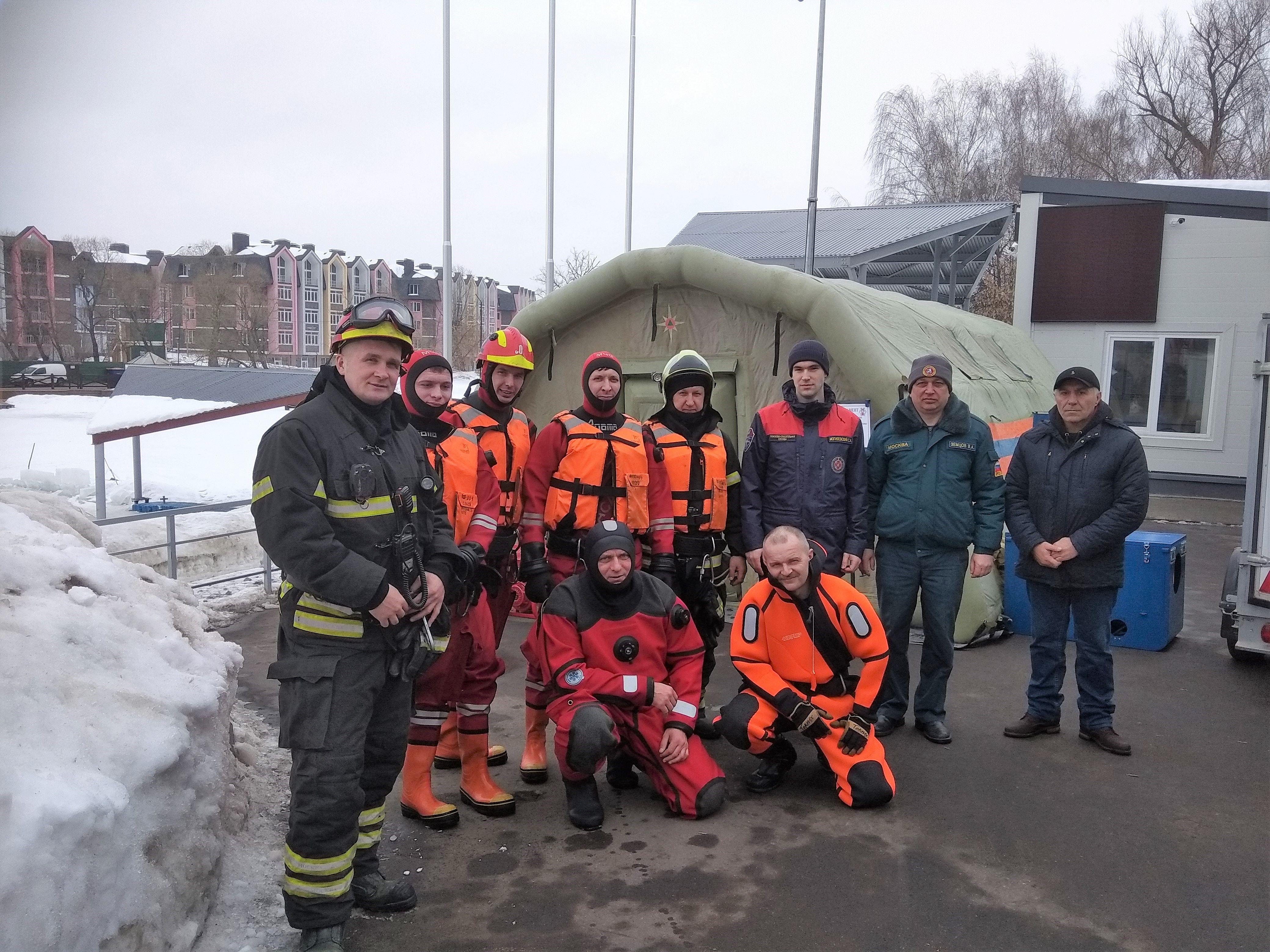 Спасатели ТиНАО готовятся к весеннему сезону