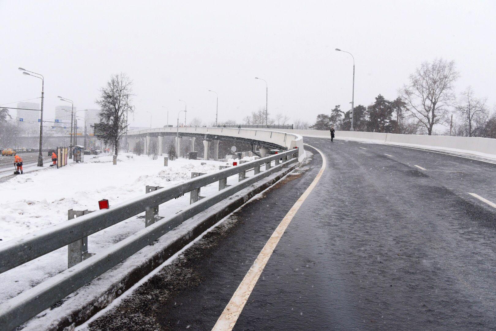 Дополнительные участки дороги введут в эксплуатацию в Новой Москве