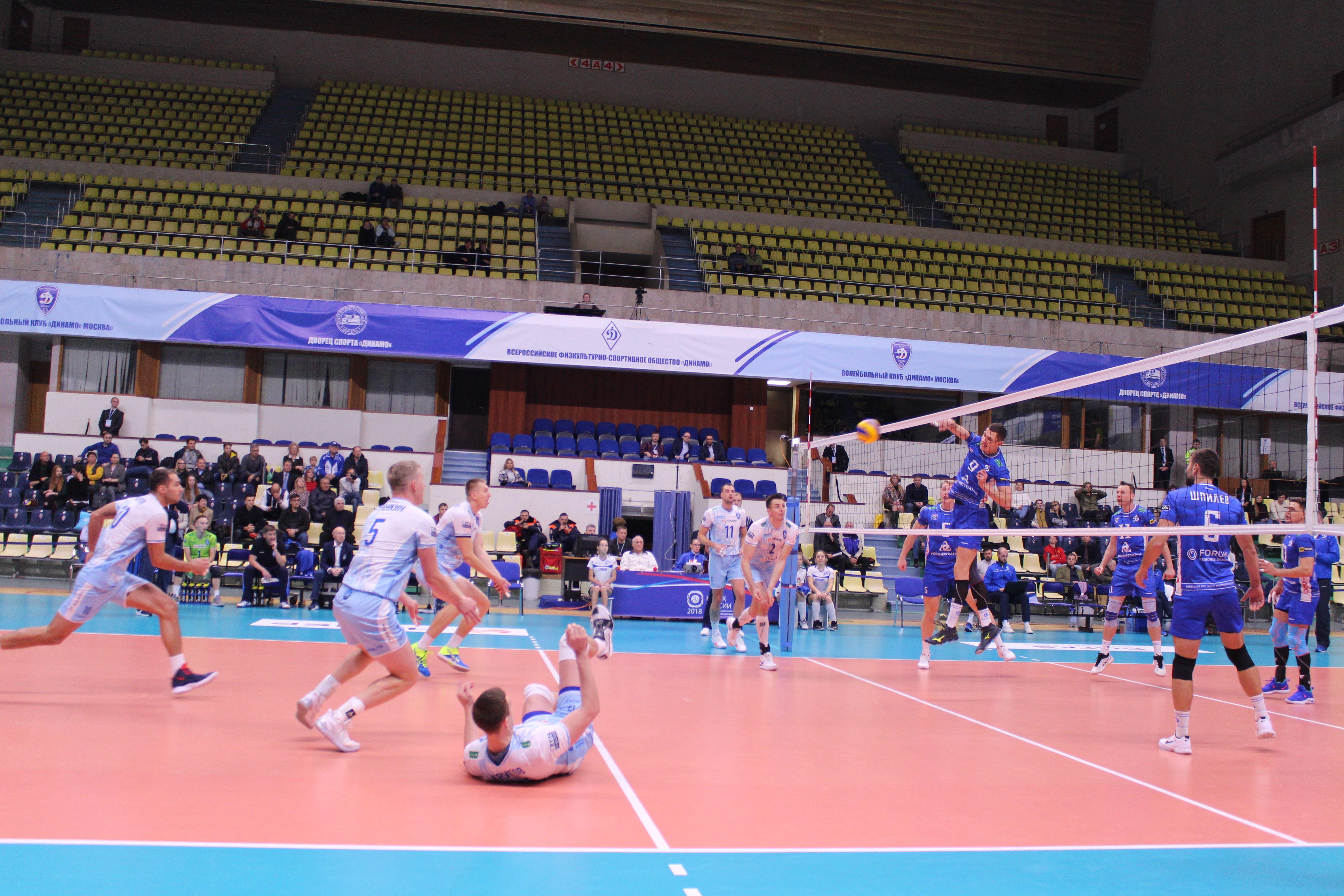 Волейболисты из Филимонковского сразятся против спортсменов из Троицка