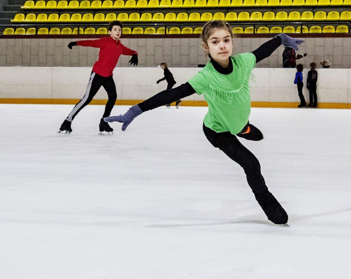 Фигуристы из Щербинки выступят на соревнованиях. Фото: «Вечерняя Москва»