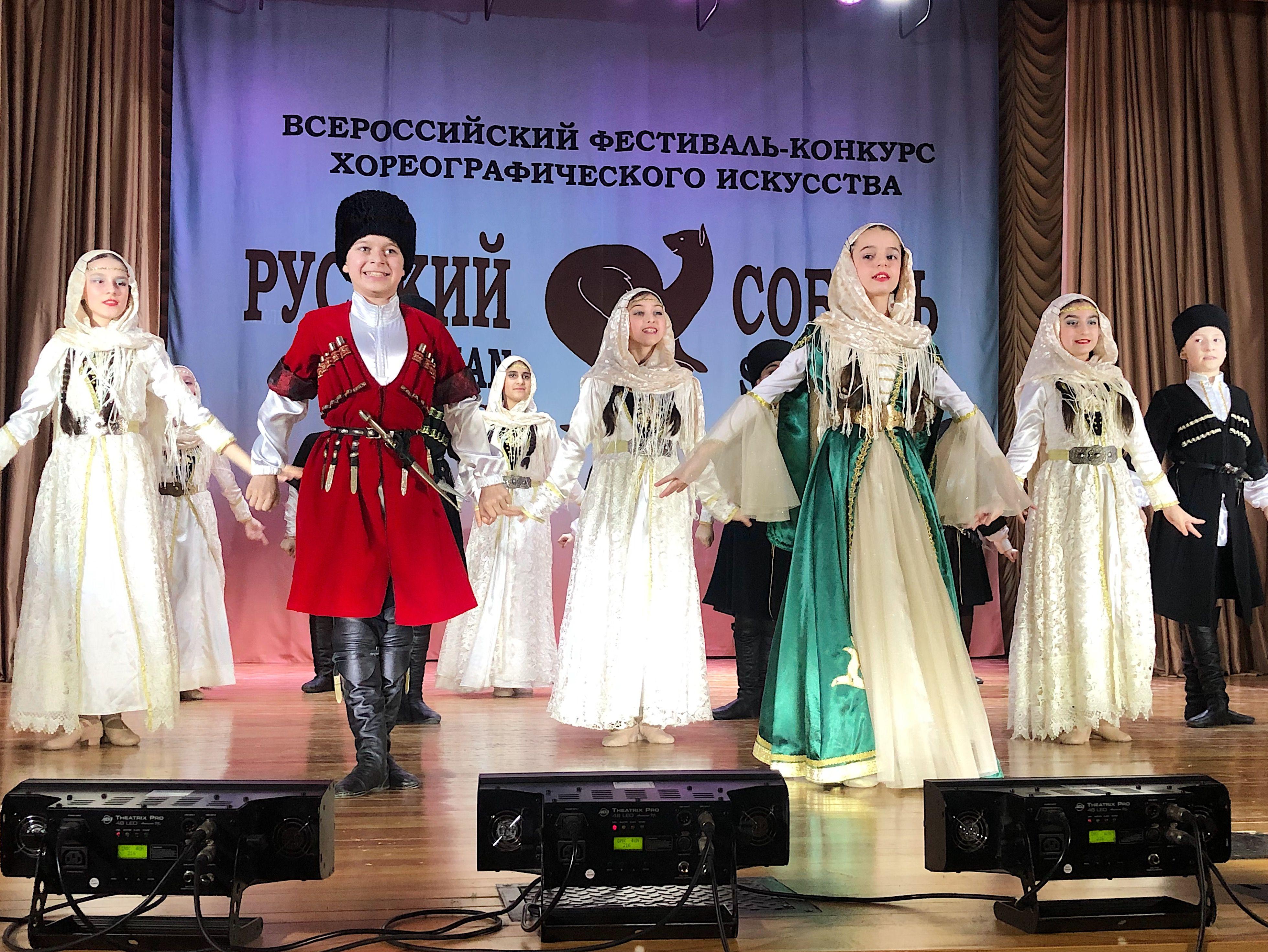 Ансамбль кавказских и закавказских танцев «Выше гор». Фото: Анастасия Аброськина