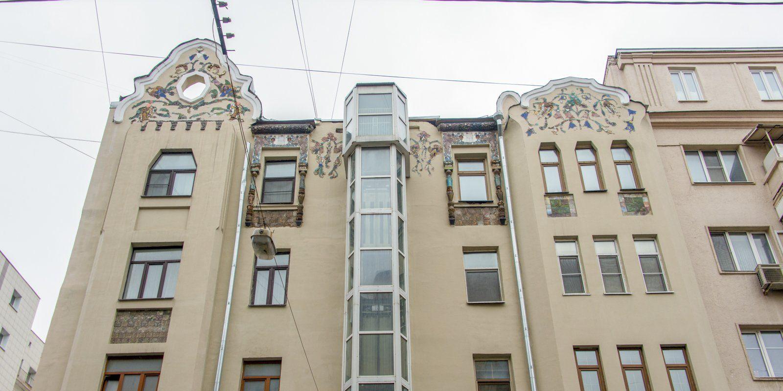 Дому с жар-птицами в Москве присвоили статус памятника архитектуры