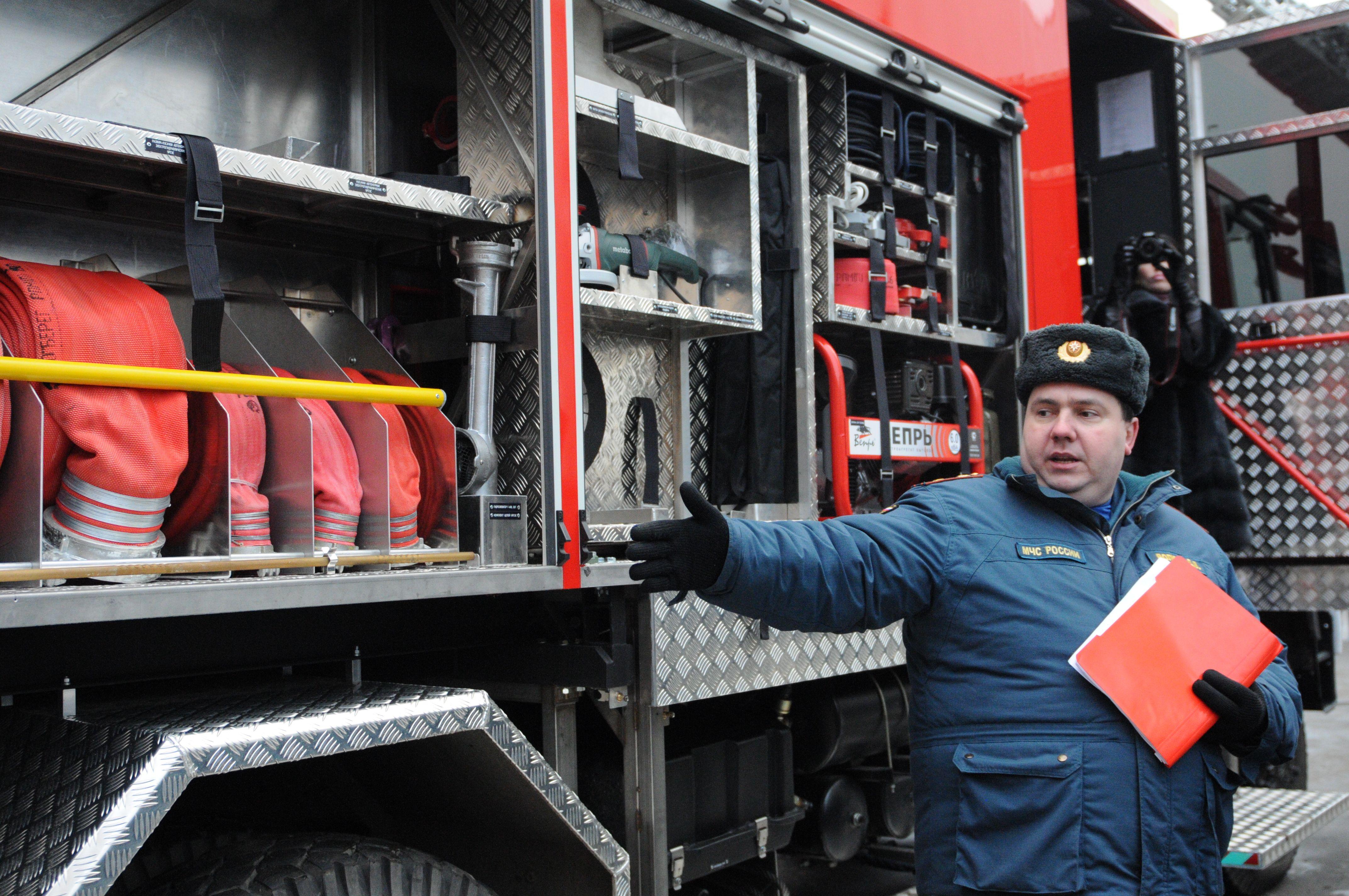Пожарное депо в Щербинке начнет функционировать летом