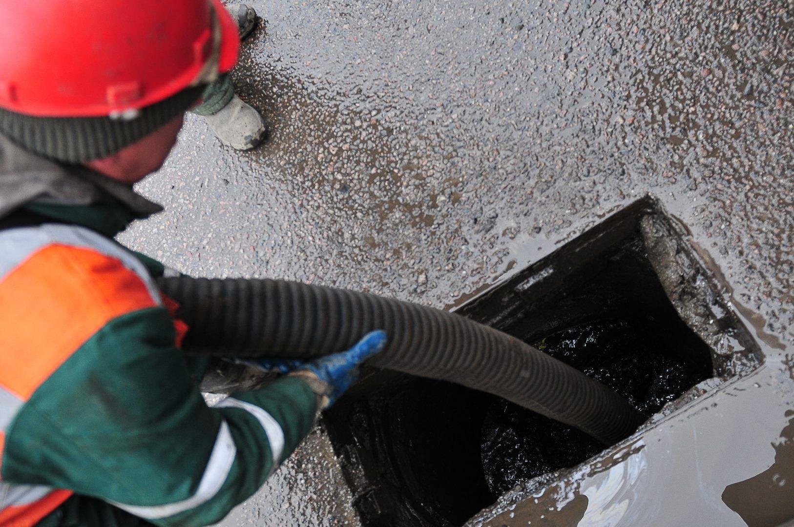 Строительство канализационной станции закончат до конца 2021 года в Прокшине. Фото: Александр Казаков, «Вечерняя Москва»