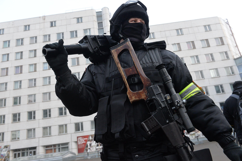 Спецназ сработал максимально четко. Фото: Александр Казаков
