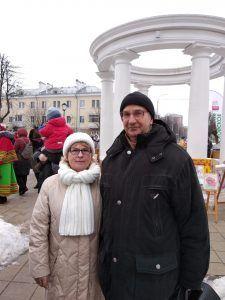 На следующий день после знакомства они пошли гулять по Щербинке. Фото из личного архива