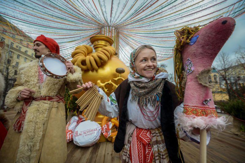 Жителей Москвы пригласили на последний день Масленицы