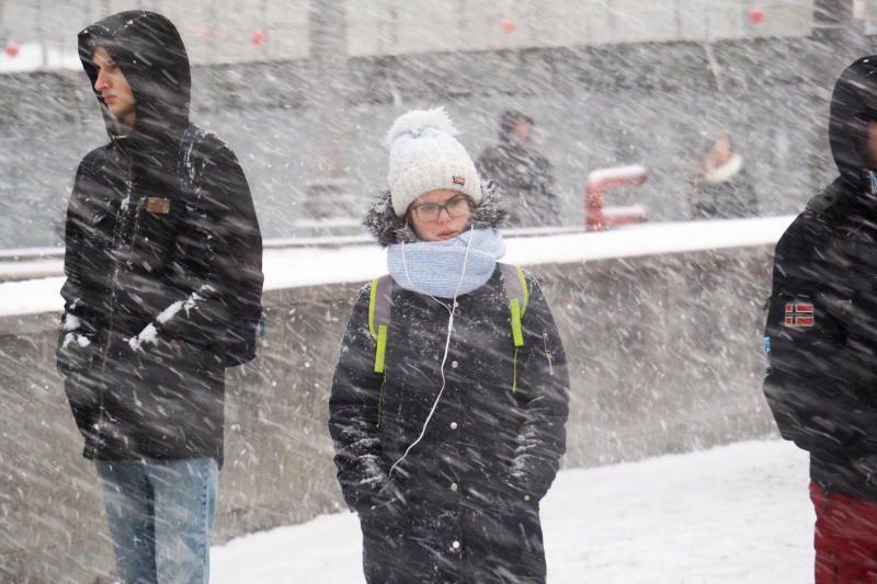 Москвичей предупредили о снежной буре