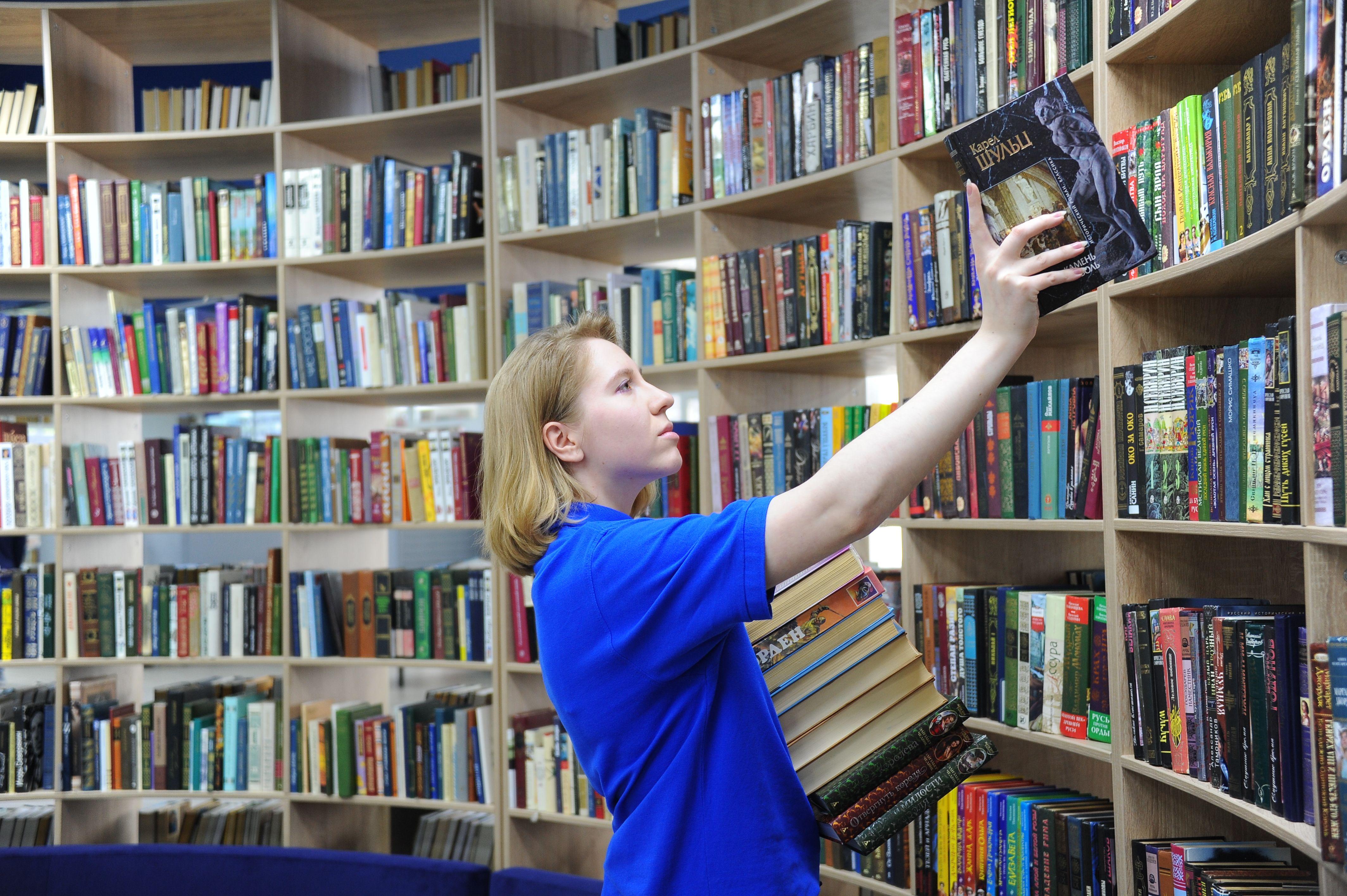 Электронный читательский билет начали использовать в половине библиотек Москвы