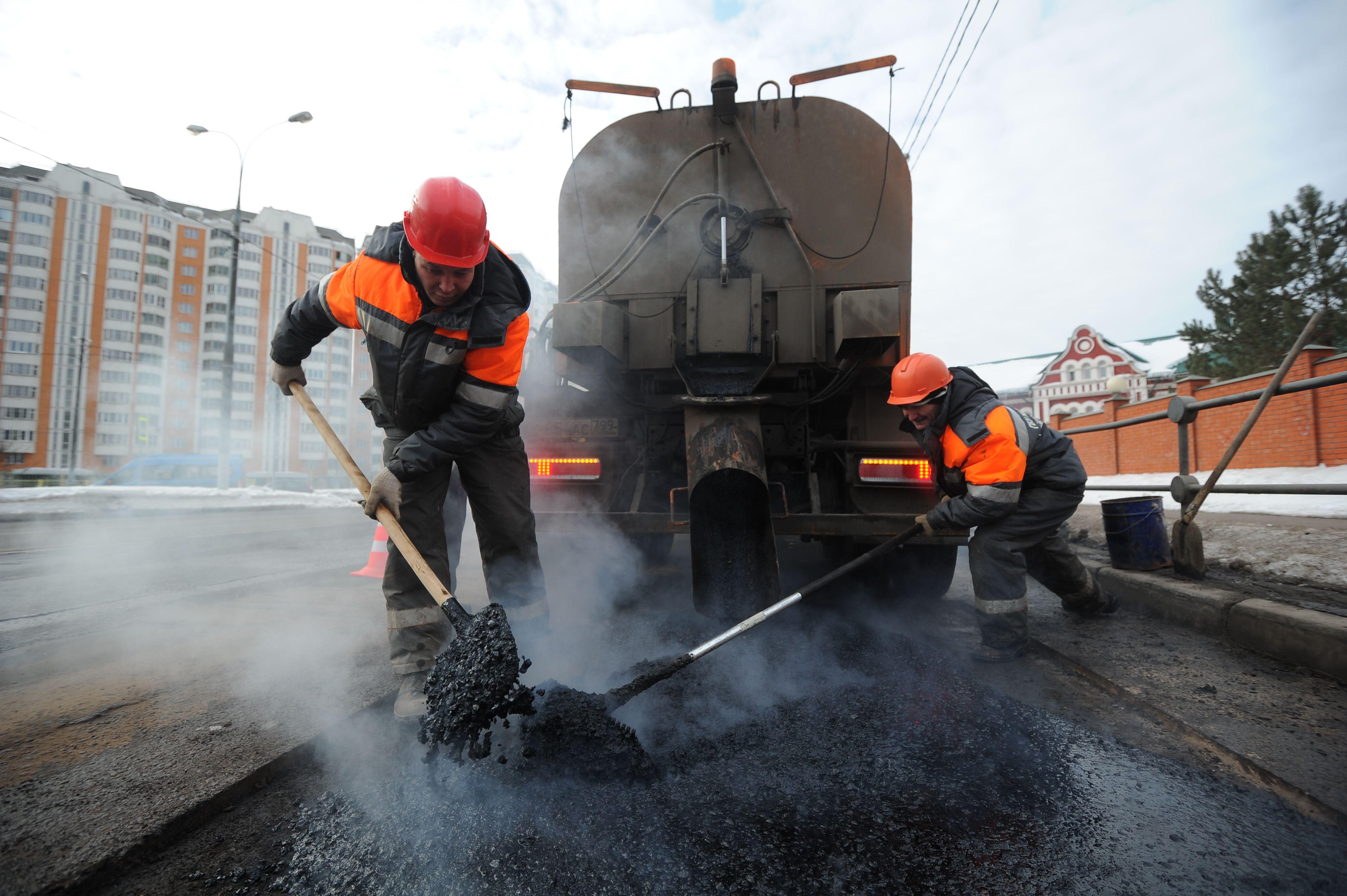 Ямы на дорогах устранят в городском округе Троицк. Фото: Светлана Колоскова, «Вечерняя Москва»