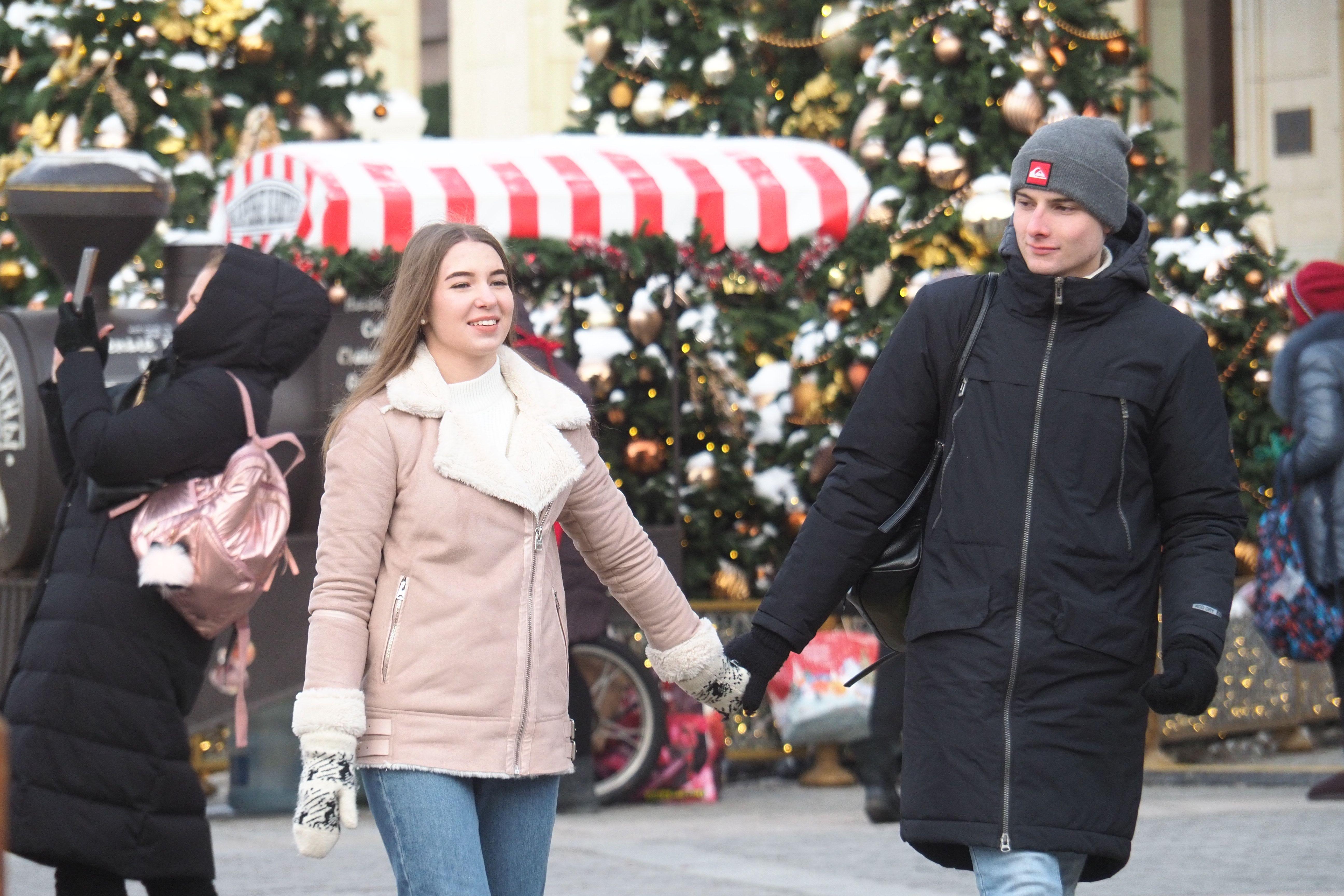 Москвичей ожидает потепление в выходные дни