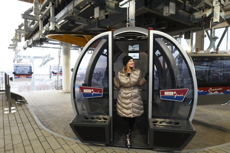 В Москве канатная дорога сделает скидку для женщин