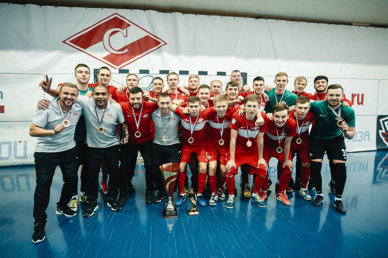 «Спартак» — обладатель Кубка Москвы по мини-футболу