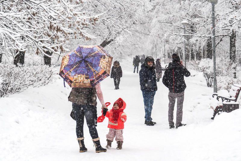 Жителей столицы предупредили о снегопаде