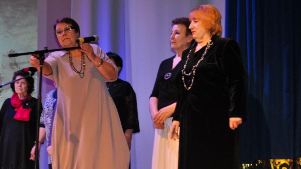 Конкурсный патриотический концерт прошел в Первомайском