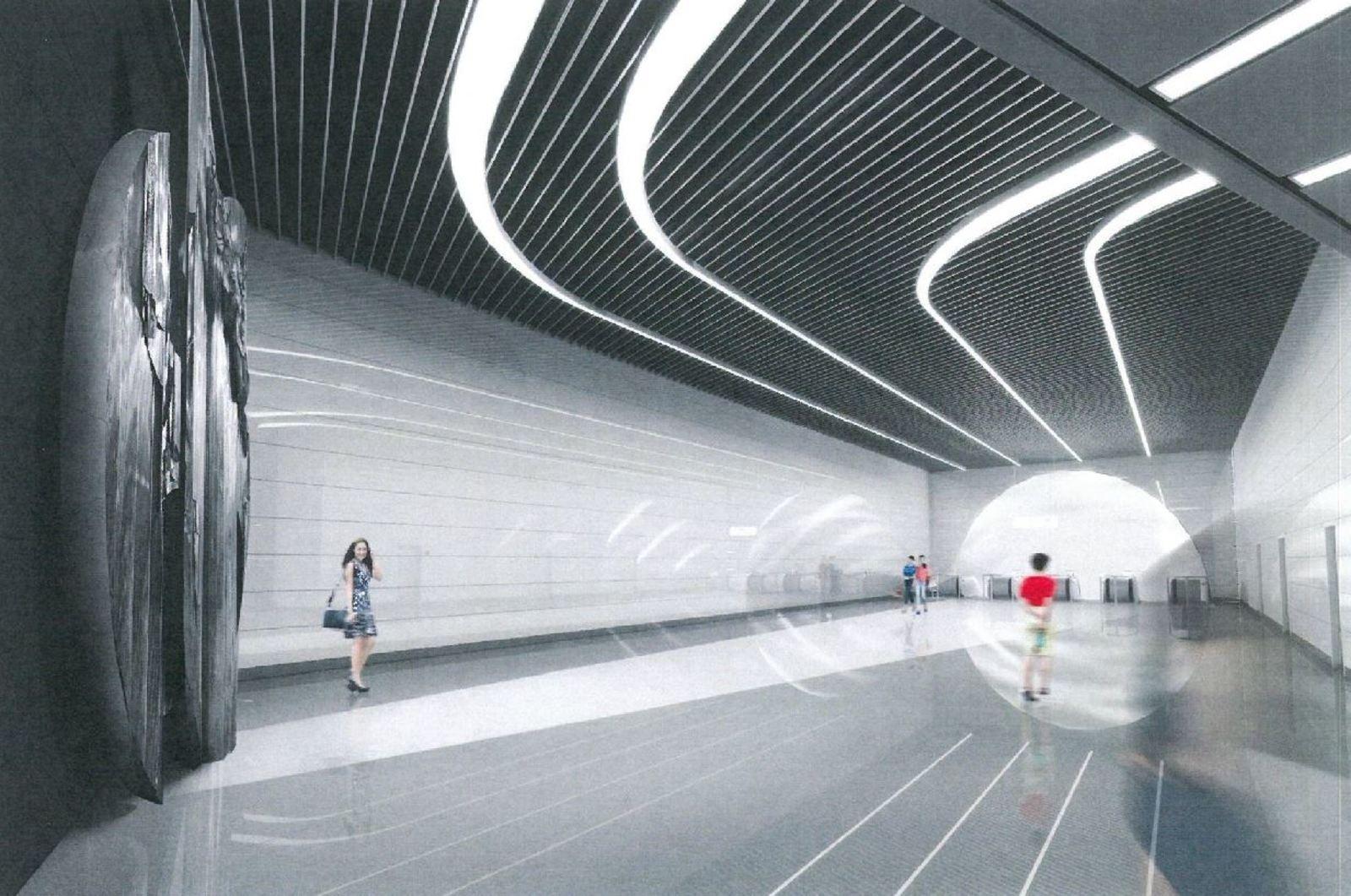 Панно «Икар» на «Авиамоторной» перенесут из-за новой станции