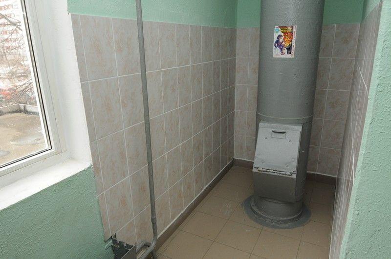 Замену мусоропровода провели в домах Троицка