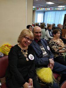 Пара активно посещает окружные и городские мероприятия. Фото из личного архива