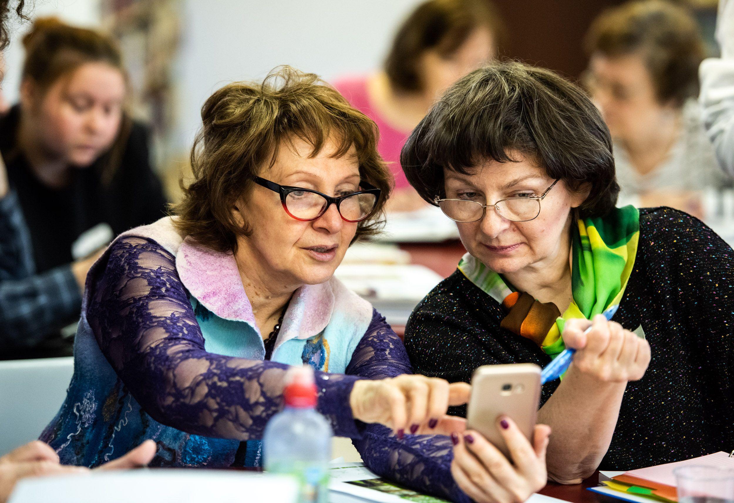 Москвичи выбрали на портале «Активный гражданин» программы обучения для людей старшего возраста