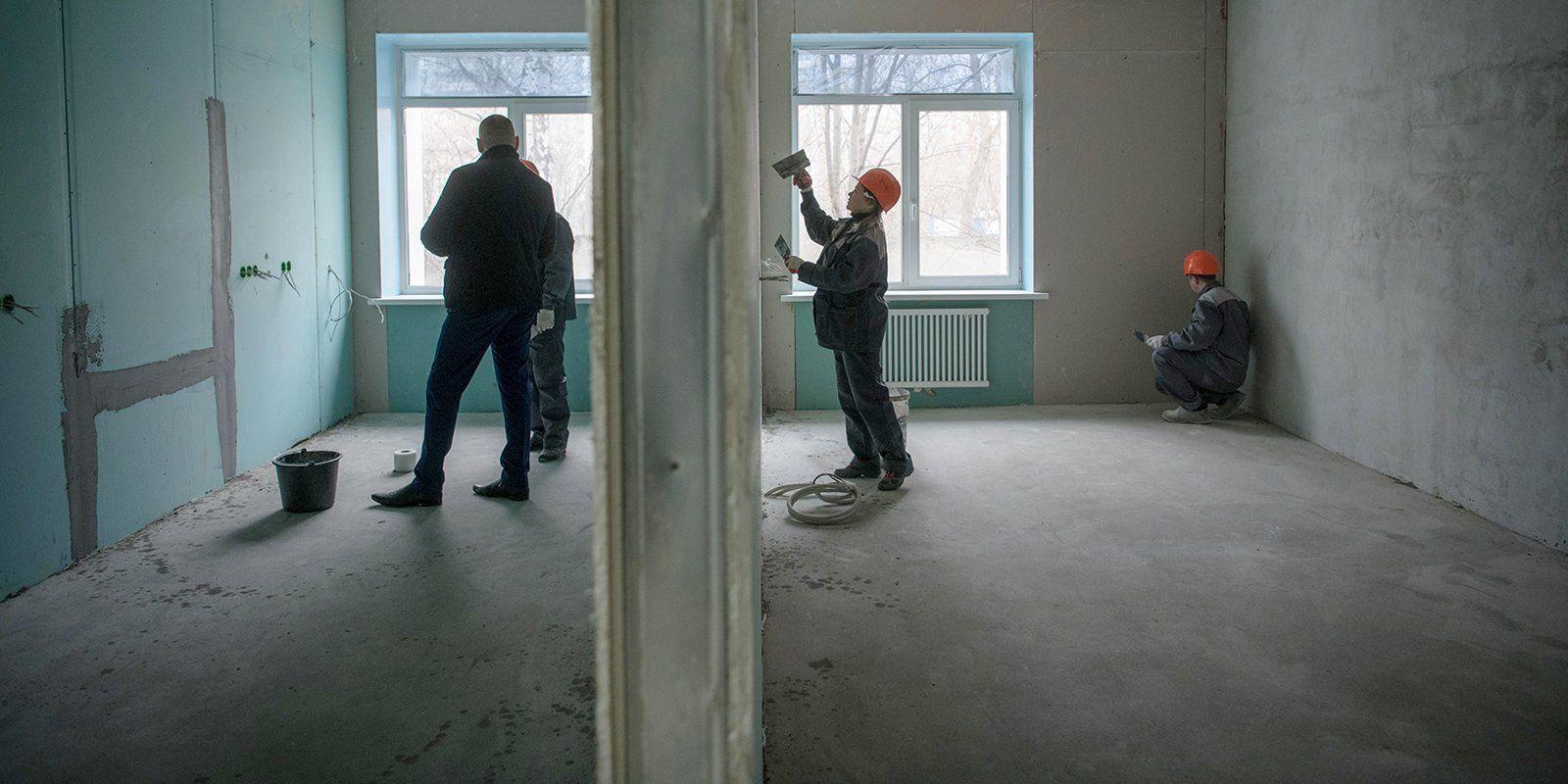 Сейчас идут модернизация и ремонт нескольких корпусов. Фото: пресс-служба мэра и Правительства Москвы