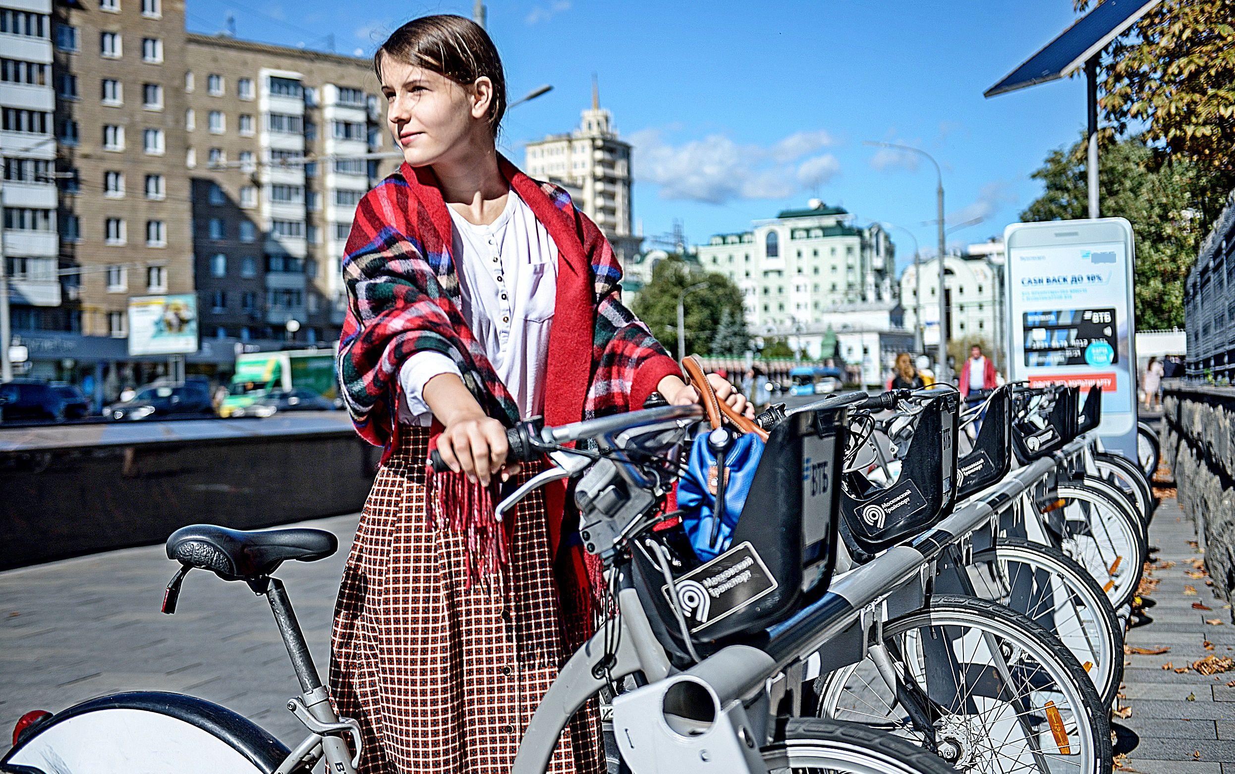 Московский велопрокат начнет работать с 25 апреля