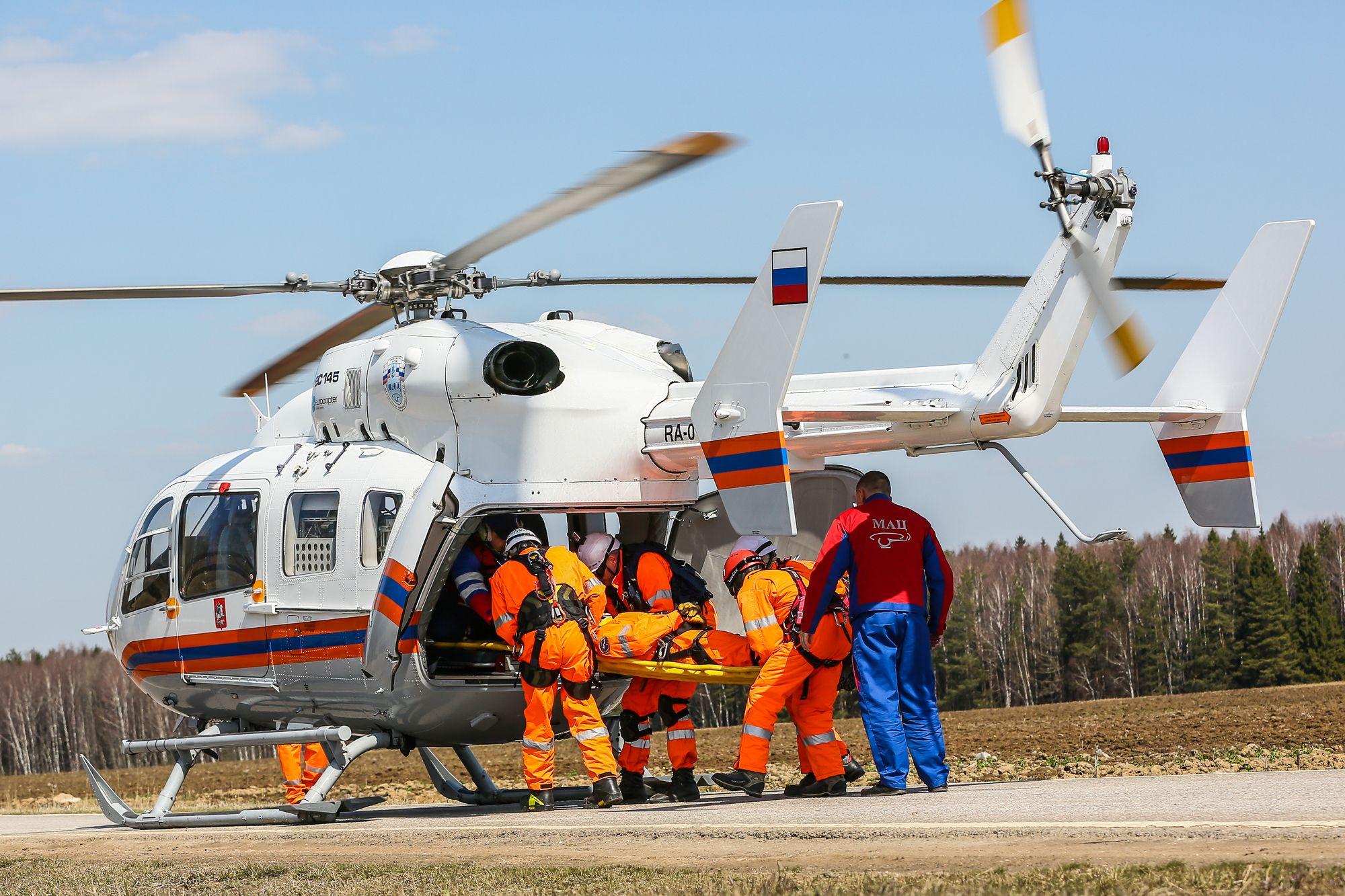Спецотряд Московского авиацентра показал свои возможности в Ярцево
