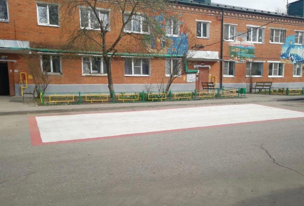Площадки пожарной техники появятся в Роговском