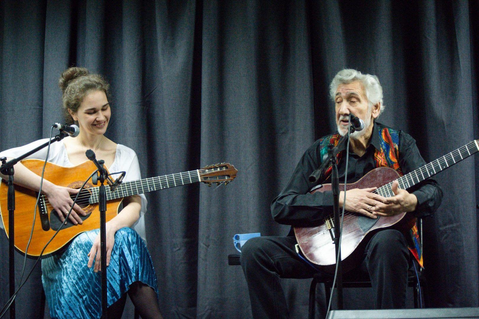 Александр колпаков вместе с женой Марией. Фото: фотограф Дома Ученых Валентина Таран