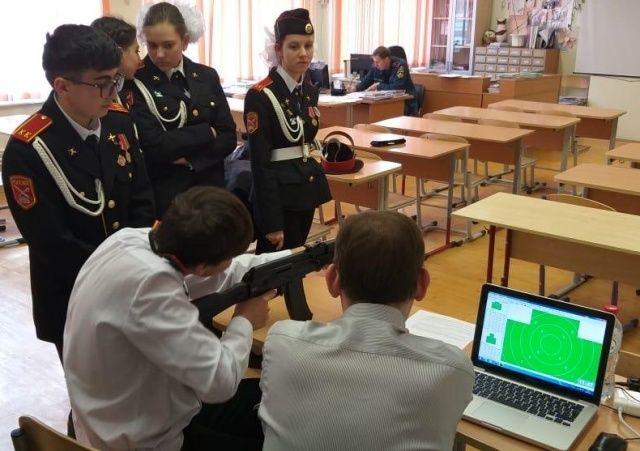 Кадеты из Внуковского показали высокие результаты на демонстрационном экзамене