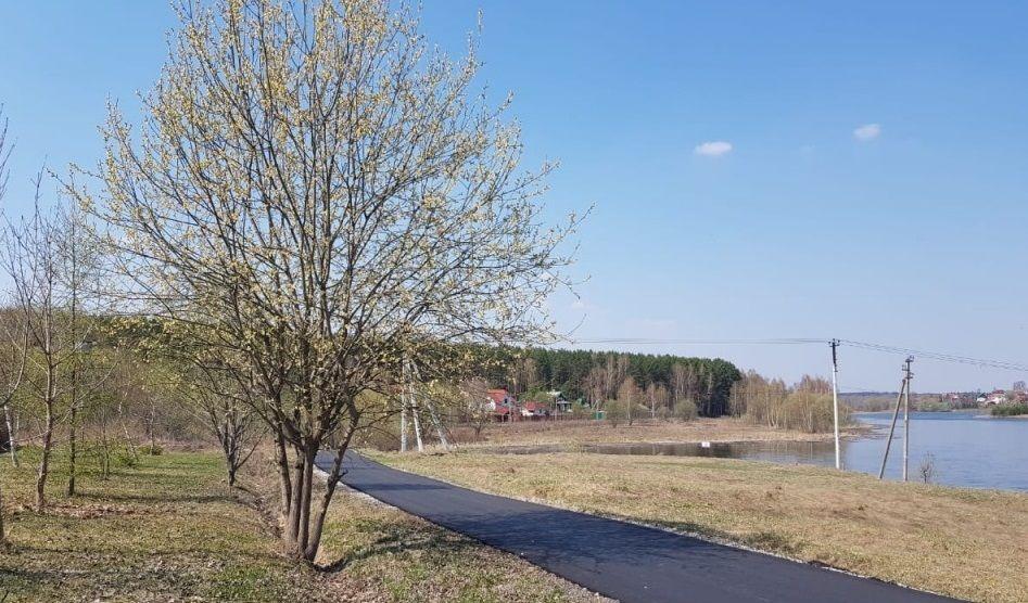 Участок дороги заасфальтировали в Кленовском. Фото: администрация поселения Кленовское