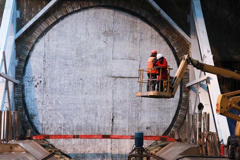 Строительство Некрасовской линии метро вступает в заключительный этап. Фото: архив