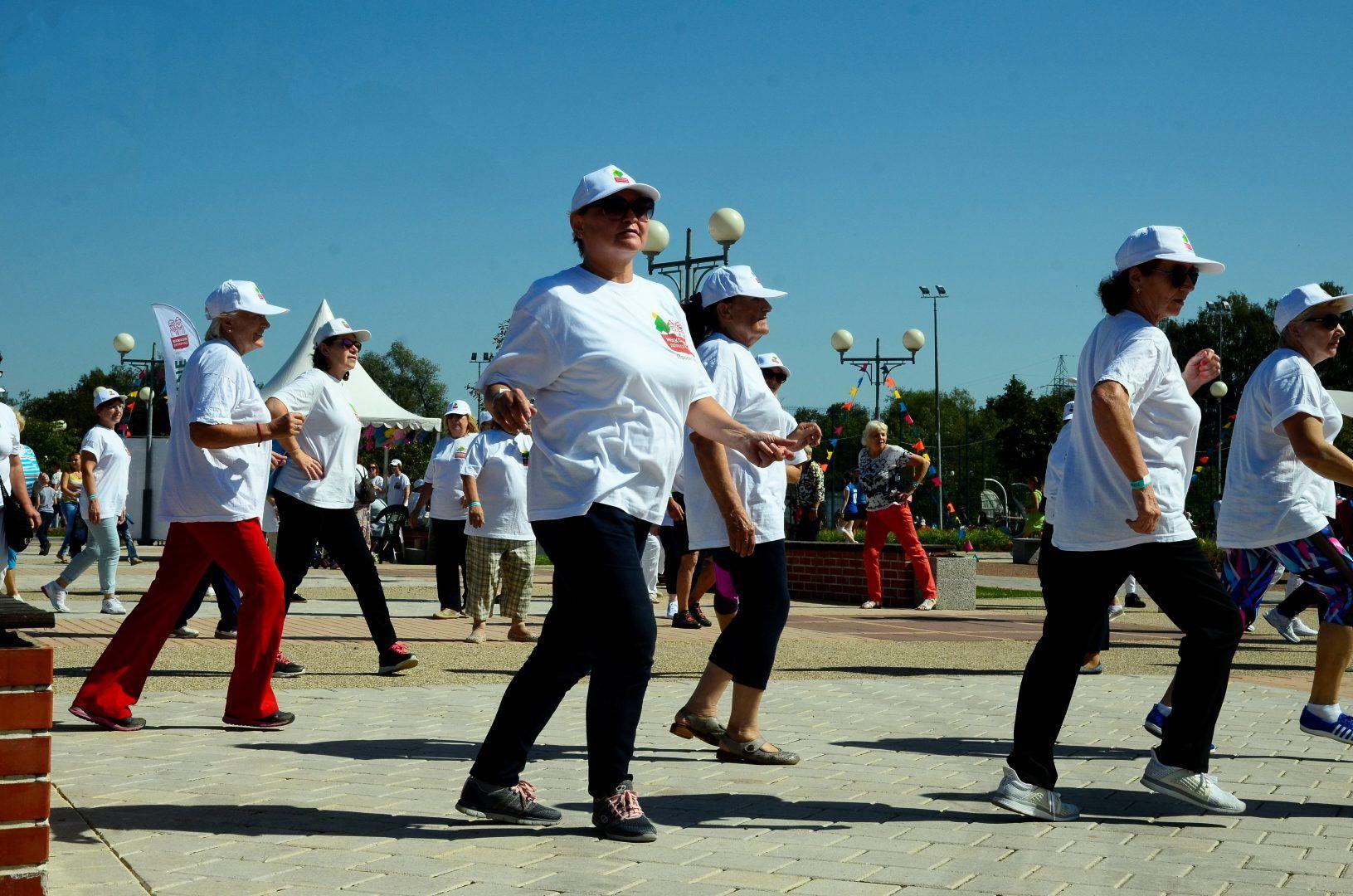 Жители Мосрентгена поучаствуют в соревнованиях по комбинированной эстафете. Фото: Анна Быкова
