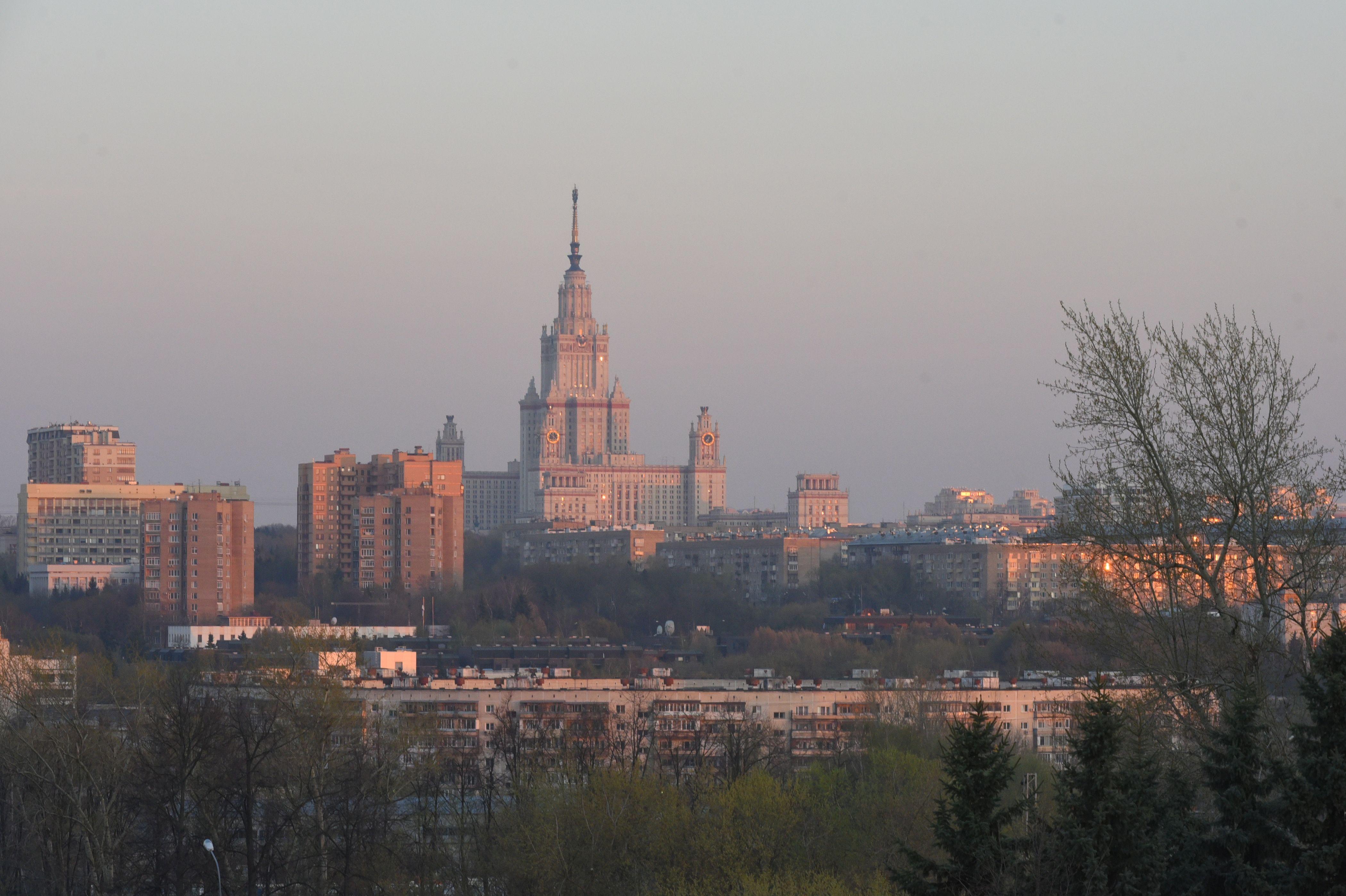 В Москве усилится ветер с 1 мая