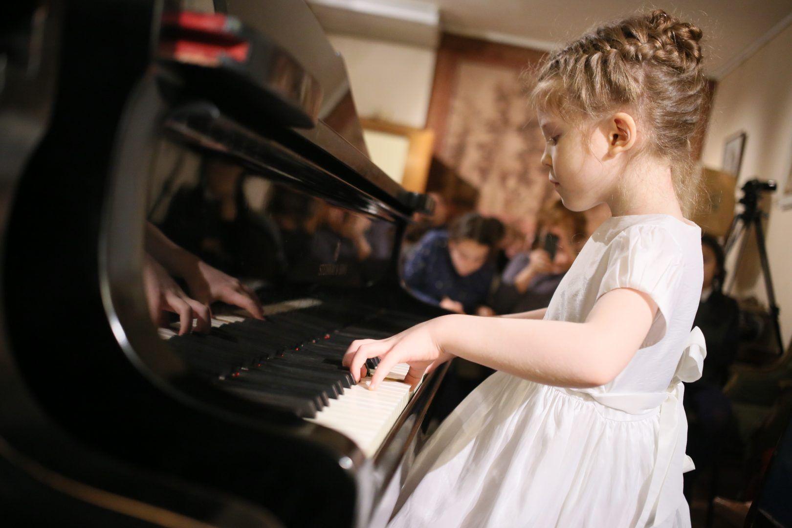 На сцену вышли музыканты от 7 до 14 лет. Антон Гердо, «Вечерняя Москва»