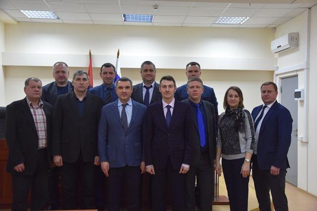 Начальник УВД по ТиНАО Шамиль Сибанов принял участие в работе заседания Общественного совета
