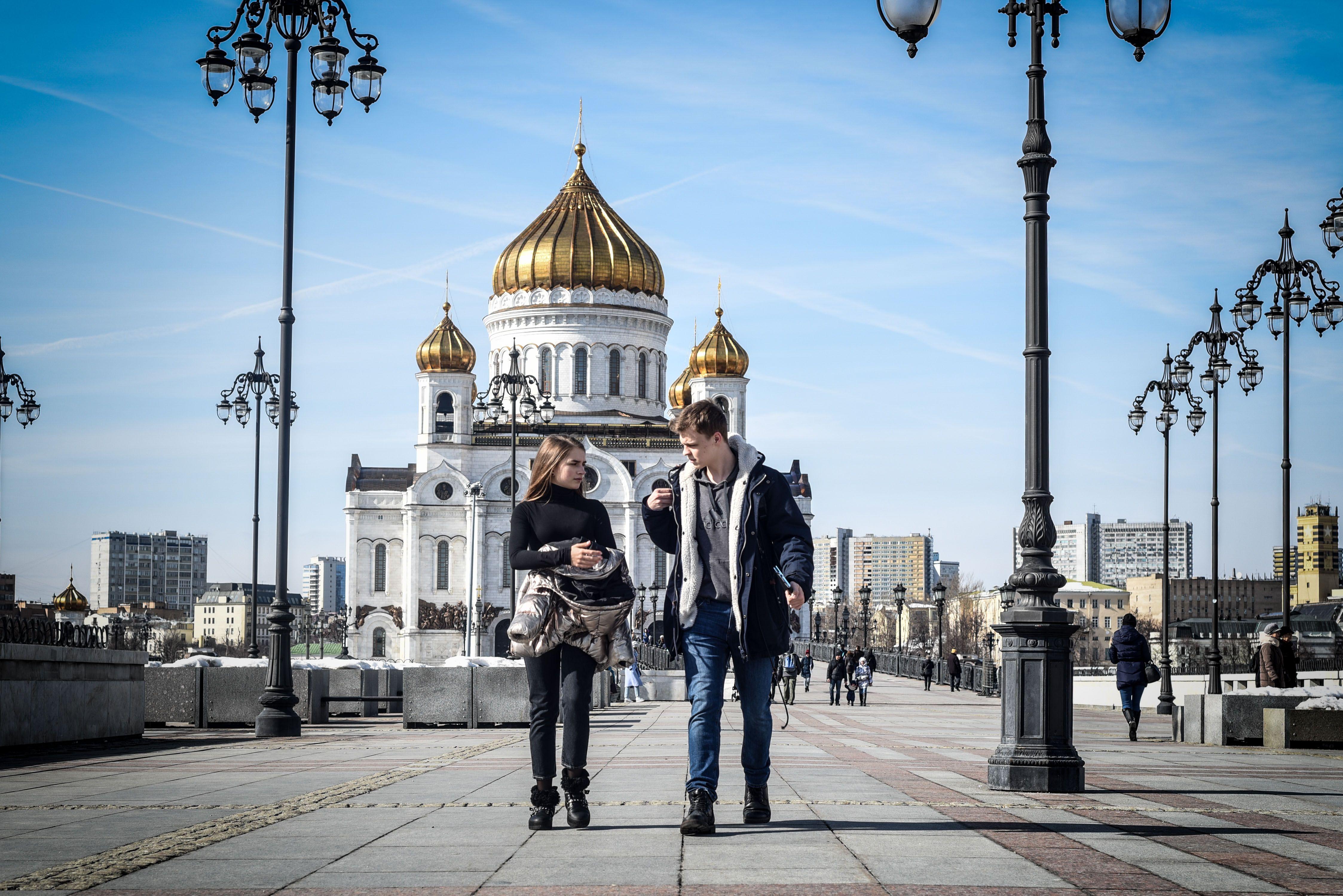 Москвичам рассказали о 15 градусах тепла до середины апреля
