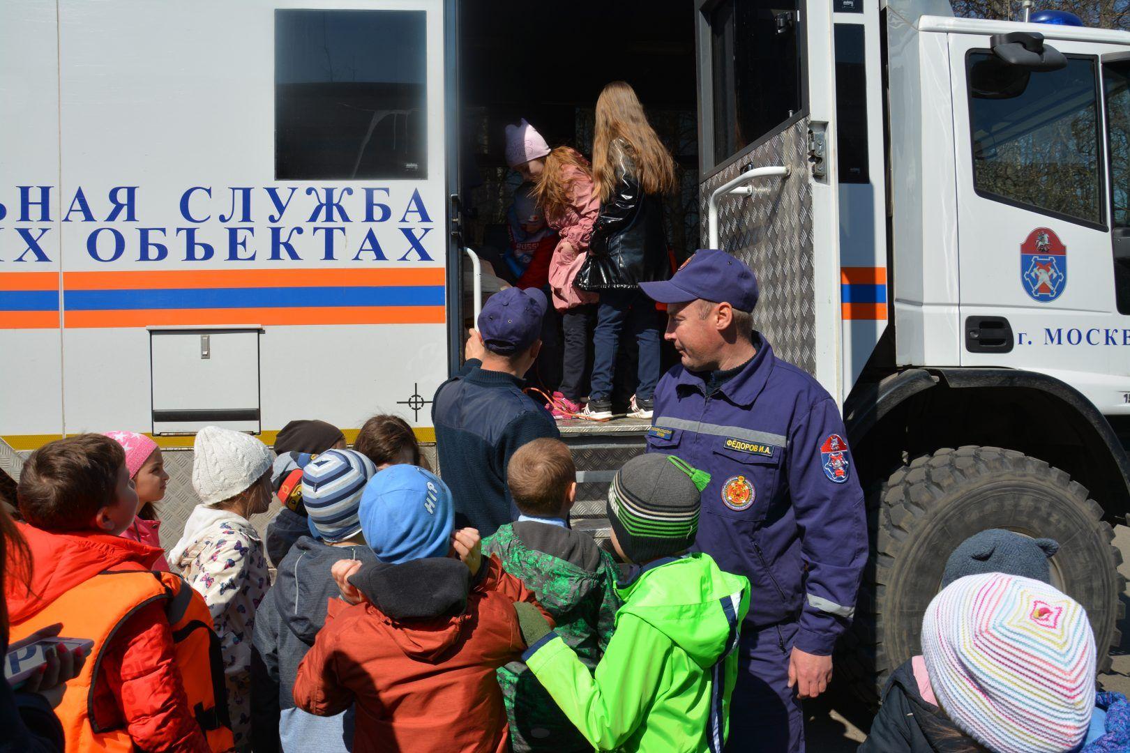 Московские спасатели о безопасности на воде в весенний период
