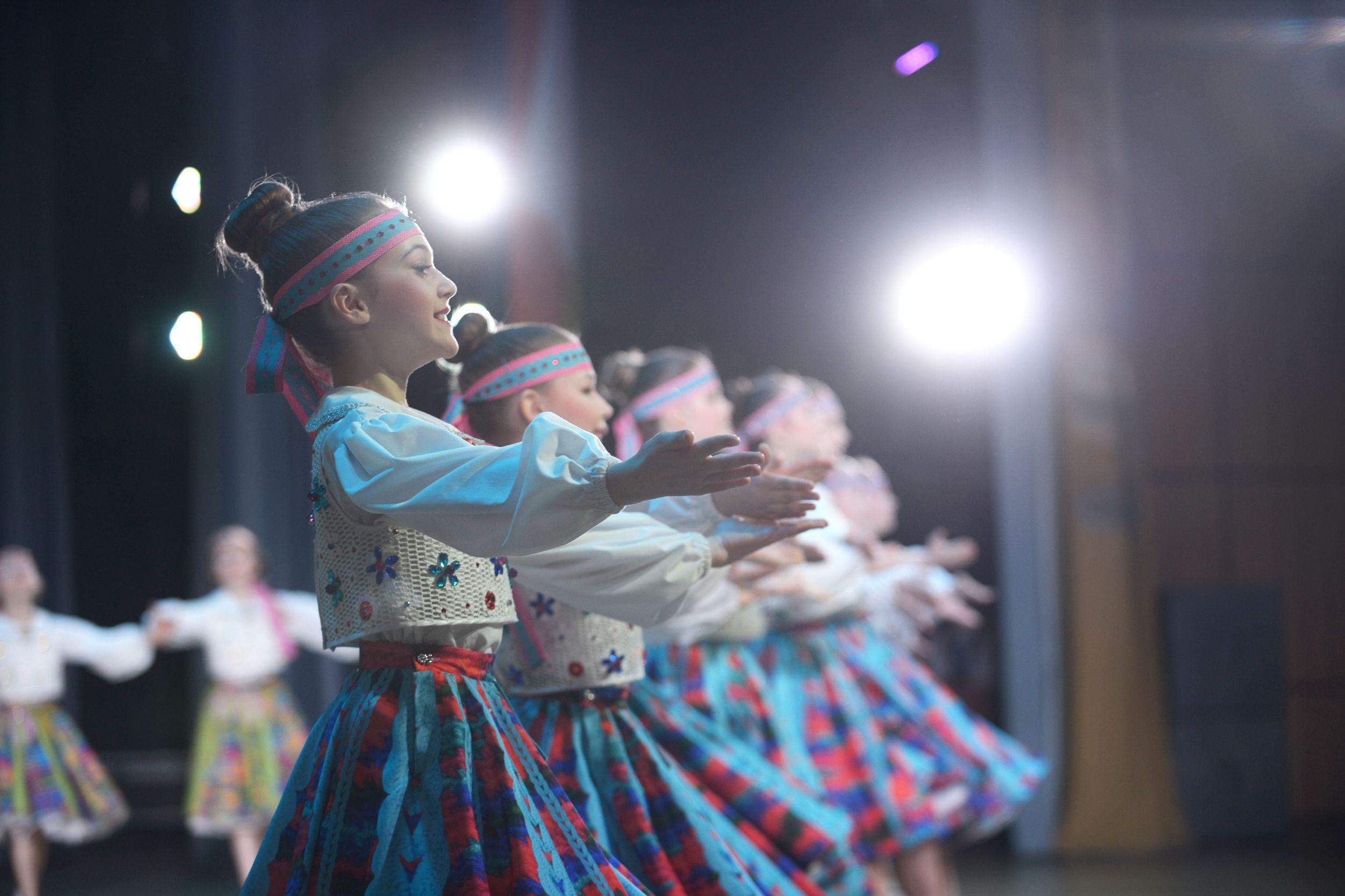 Ребята из Детской школы искусств в Вороновском выступили на отчетном концерте
