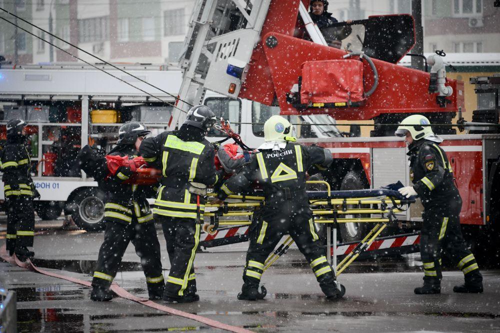 Пожарно-спасательный центр создали в Московском