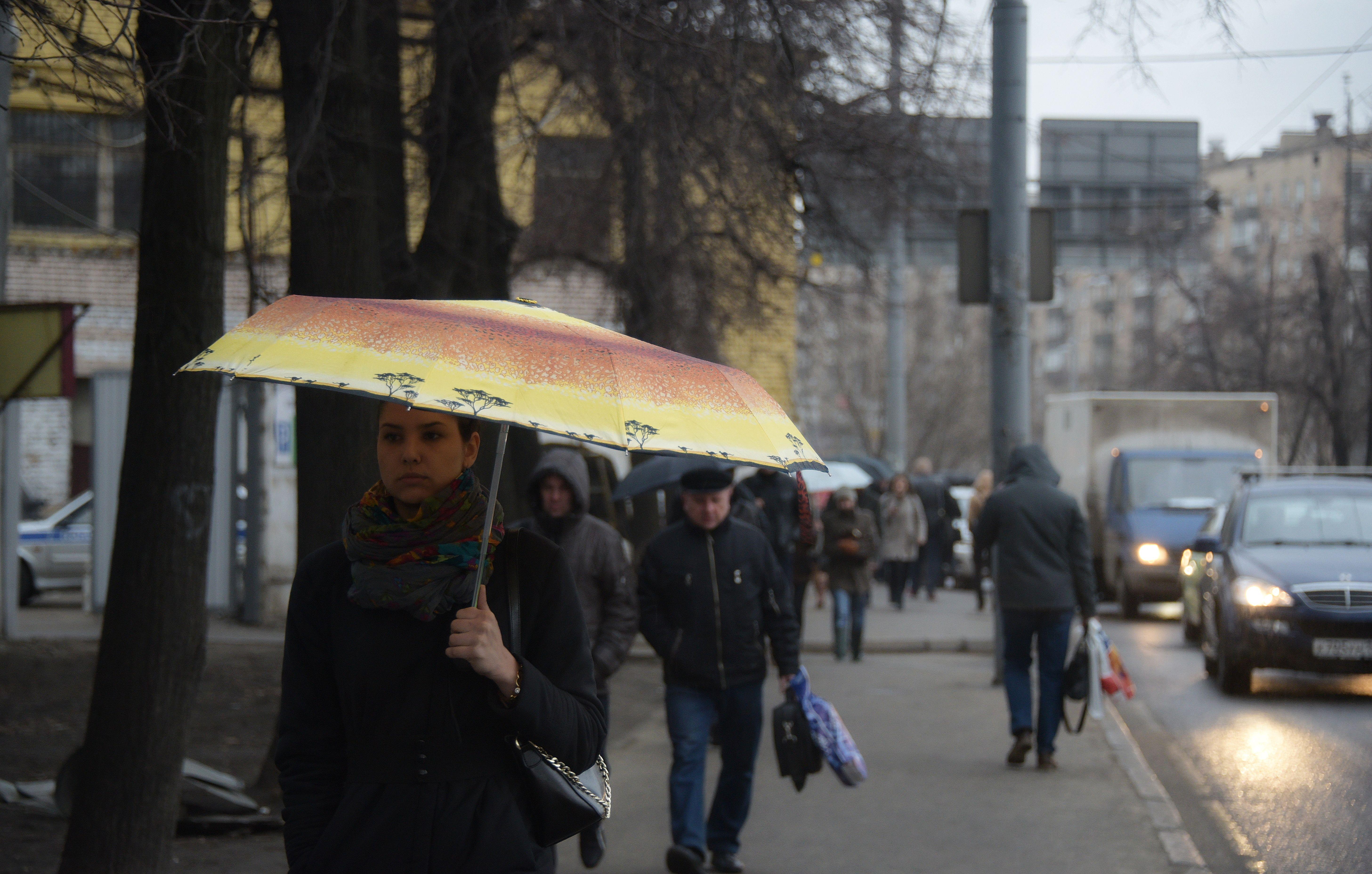 Облачную пятницу пообещали москвичам
