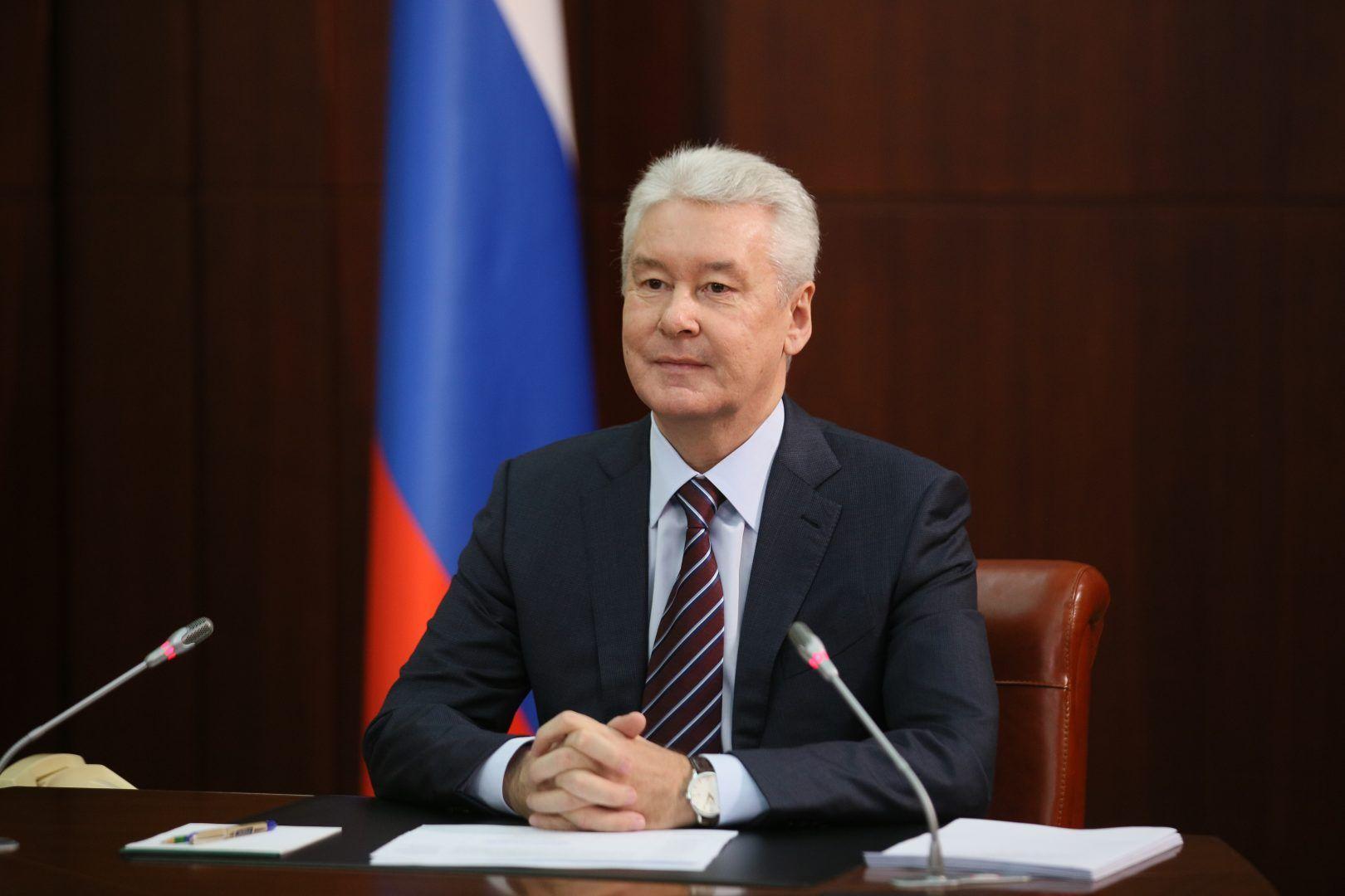 Мэр Москвы Сергей Собянин. Фото: Антон Гердо