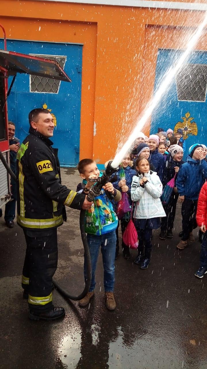 Экскурс в профессию пожарного