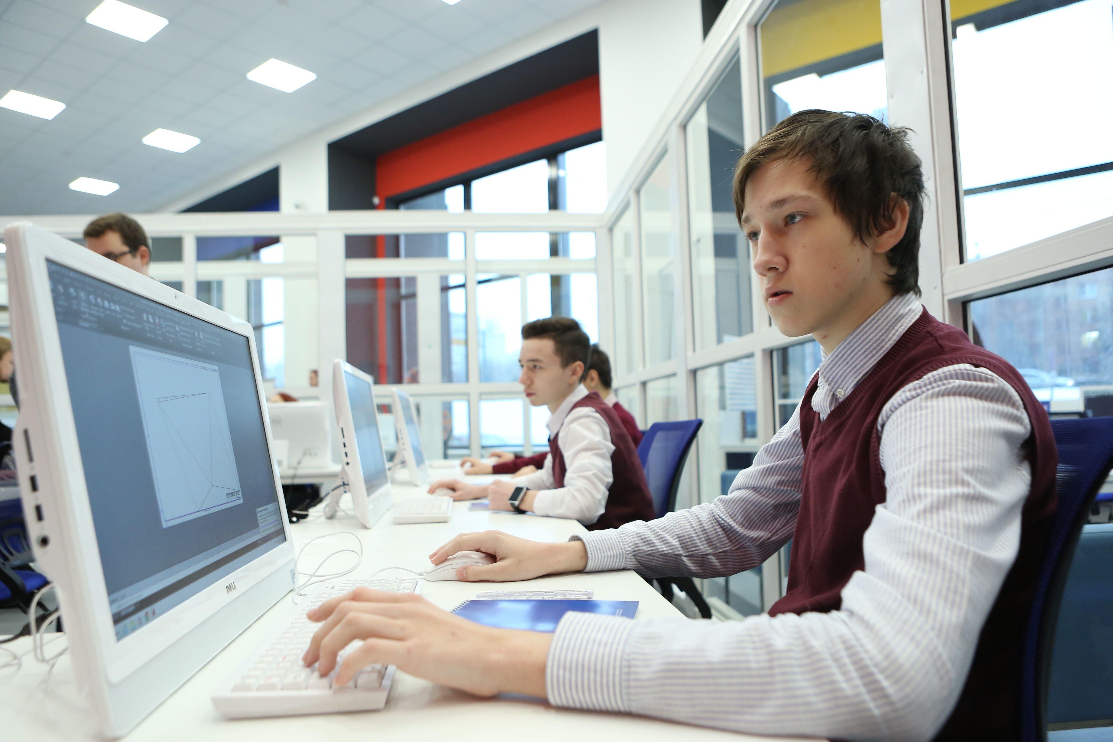 Сайт мэра Москвы запустил новую услугу для школьников