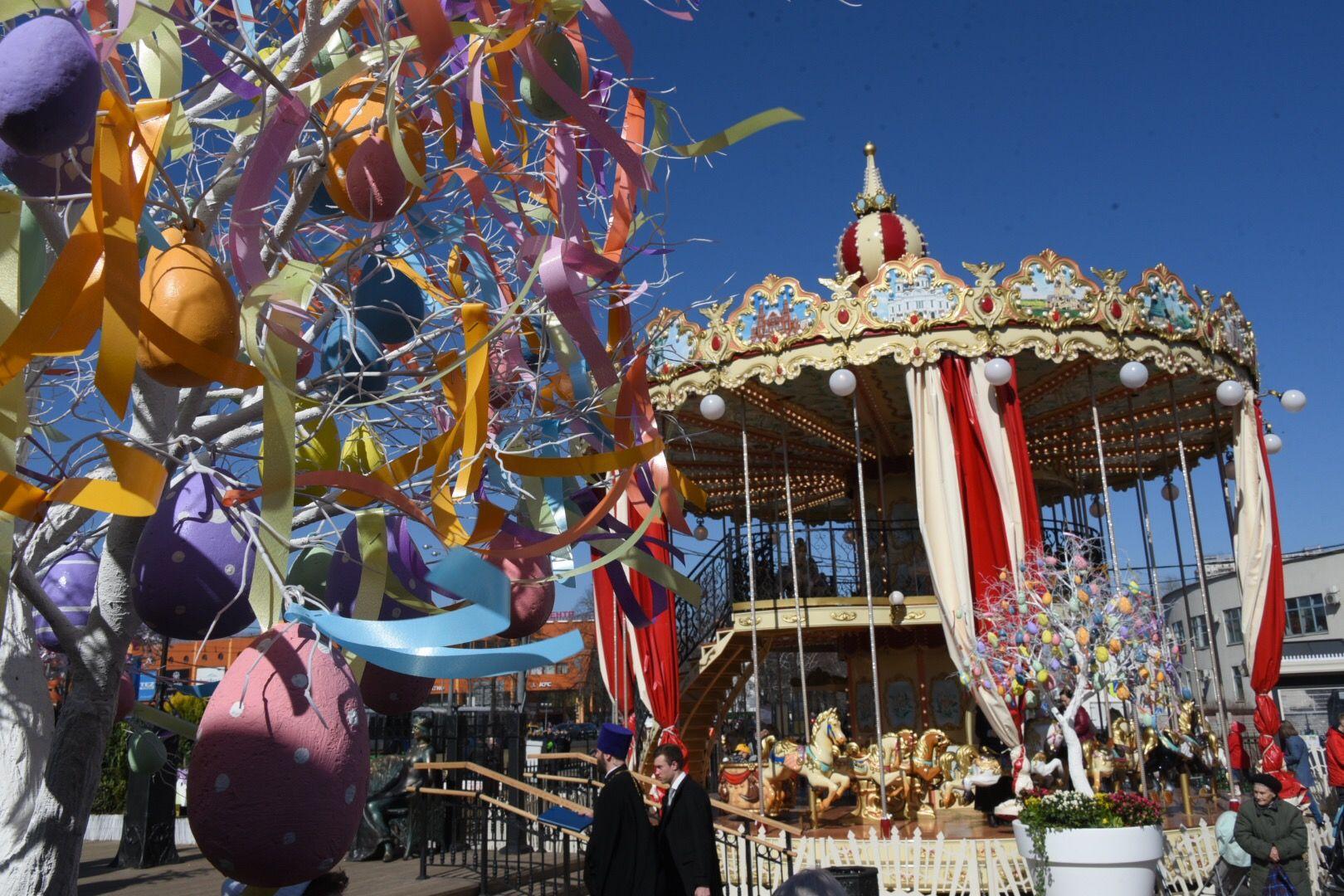 Зеленые кролики украсят площадки фестиваля «Пасхальный дар»